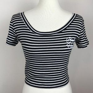 Gypsy Warrior Bad Habits Striped Top Size M